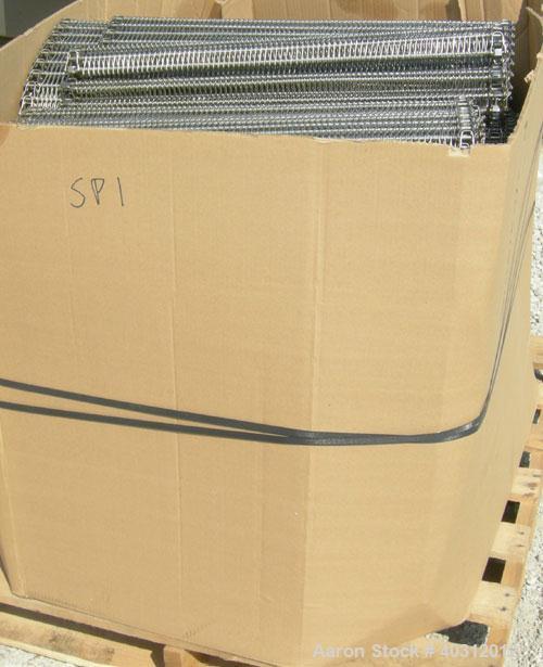 "Used- RMF Freezing System Spiral Freezer, model 2817-8-R36. Design Capacity: 4"" x 3/8"" double stack veggie patties, random p..."