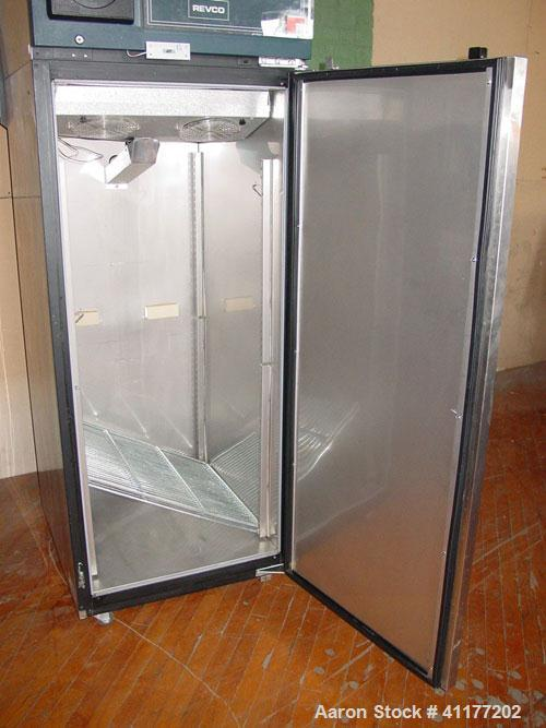 Used- Revco Upright Freezer, Model UTL2330-A-N-J, 23.3 Cubic Feet. Temperature range -30 deg C. Internal dimensions 24'' wid...