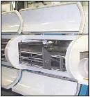 Used- Cardox Nitrogen Triple Pass, Model 1-55-0003-03, 3 modules, 30