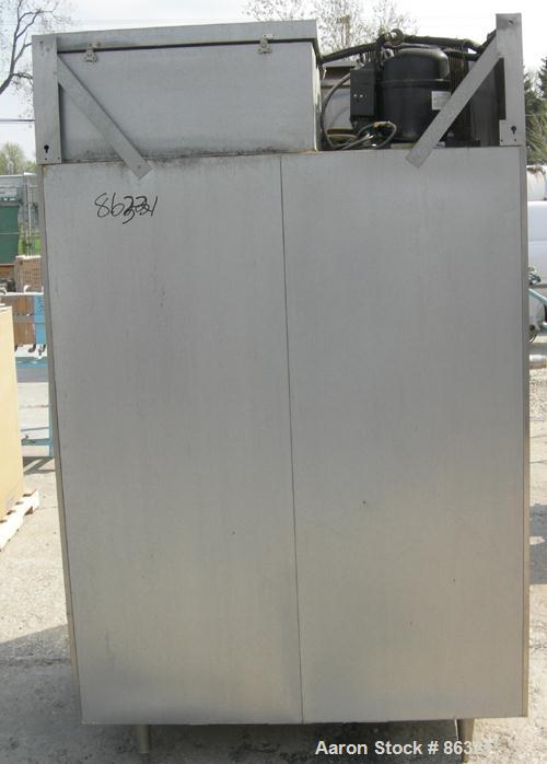 """USED: Victory reach-in freezer, model FS-2D-S7, 304 stainless steel. Approximate 45 cubic feet. Inside 48"""" wide x 26"""" deep x..."""