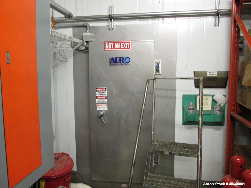 Used- Aero Spiral Freezer, food grade construction.