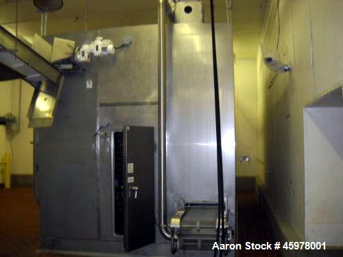 Used- 8' Diameter Aero Spiral Freezer