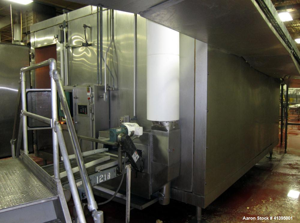 Used- Stainless Steel Airco Spiral Freezer, Model KF245300SCCW