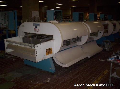 """Used- Ultrafreeze Tunnel. 86"""" x 30"""" wide conveyor belt. 3 conveyor tiers, 5 module. Variable speed fans. Nitrogen or CO2."""