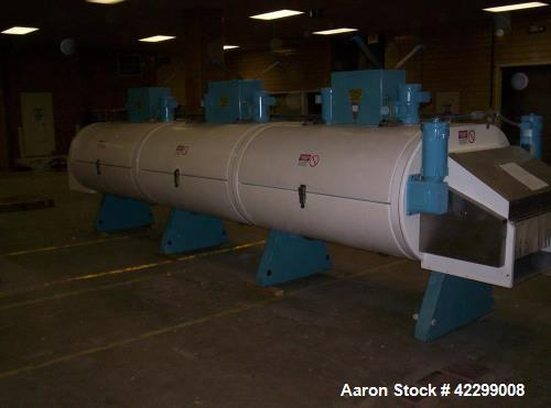"Used- Ultrafreeze Tunnel. 20'-11"" long x 30"" wide conveyor belt. 3 module, 1 conveyor tier. Variable speed fans. Nitrogen or..."