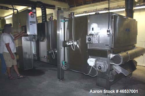 Used- CES Multi Pass (Three Tiers) Immersion Liquid Nitrogen Tunnel