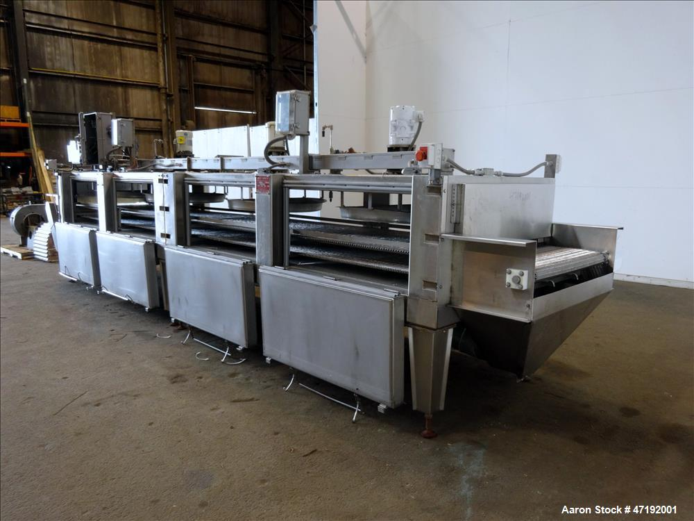 Used- Airco Kwik-Freeze Freezing System.