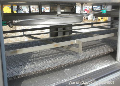 Used- Stainless Steel BOC Gases KwikFreeze Modular Tunnel Freezer
