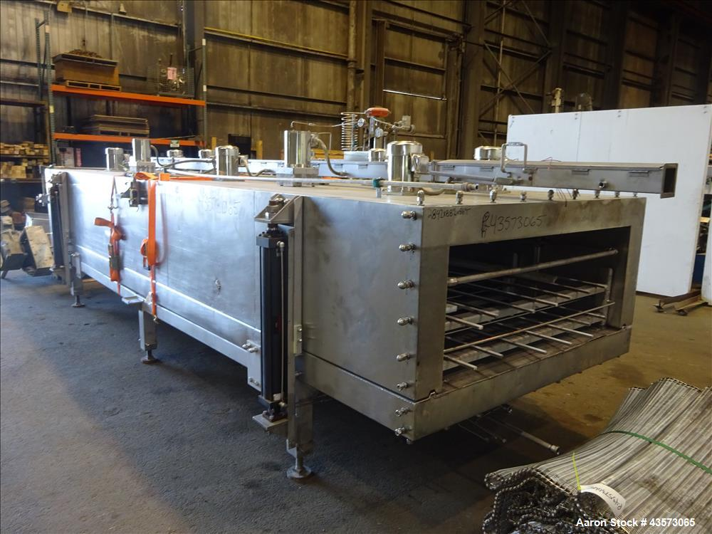 Used- BOCS Gases Kwikfreeze System Nitrogen Freeze Tunnel, Model KFT50X40HYD.