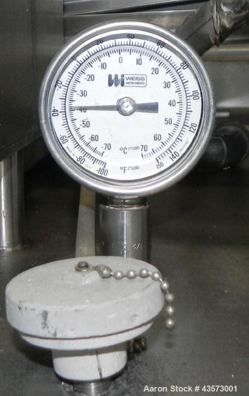 Used- Liquid Carbonic Liquid Nitrogen Freeze Tunnel, Model JEU4