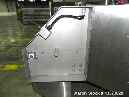 "Used- Martin Baron (MBI Cryo) MBI 1-48-0020-01 Nitrogen Freeze Tunnel. Has a 50""W mesh belt tunnel with 5"" height clearance...."