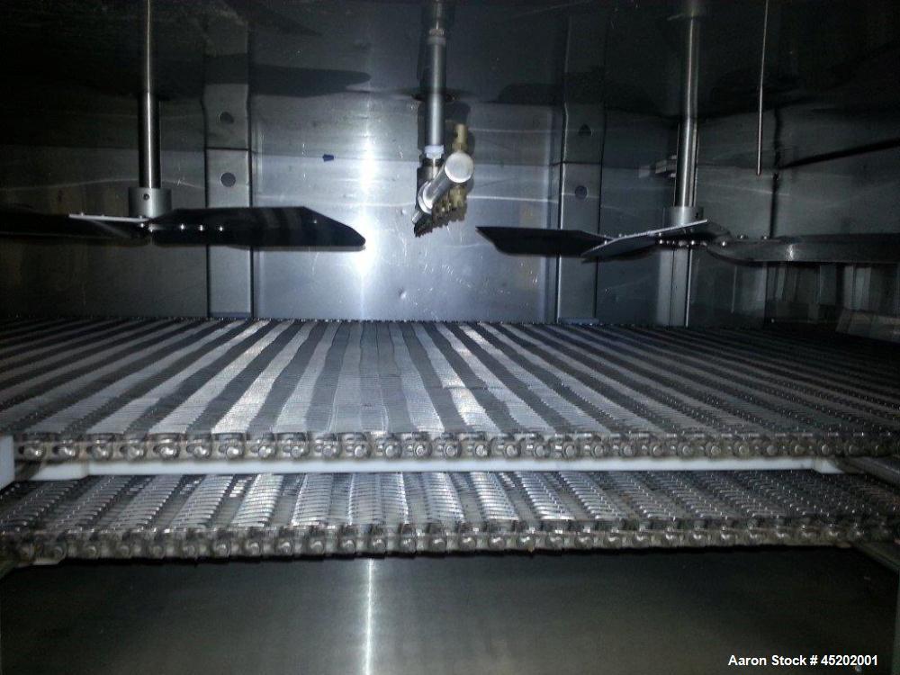 Used- Martin / Baron Cryogenic Tunnel Freezer, Model MBI-30-0006-01, Stainless S