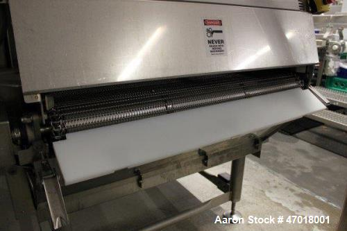 "Used- Praxair CO2 Freeze Tunnel, Model JE-U4-940 DD/BC/HC/VE. 42"" x 12, SS Omni Grid Belt. 9' box, Cryogenic Injection Syste..."