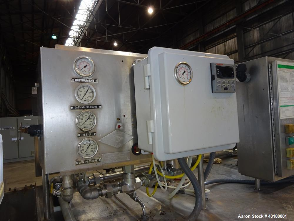 Used- Praxair Freezer Tunnel, Model JE-U4 Cryo-Shield.