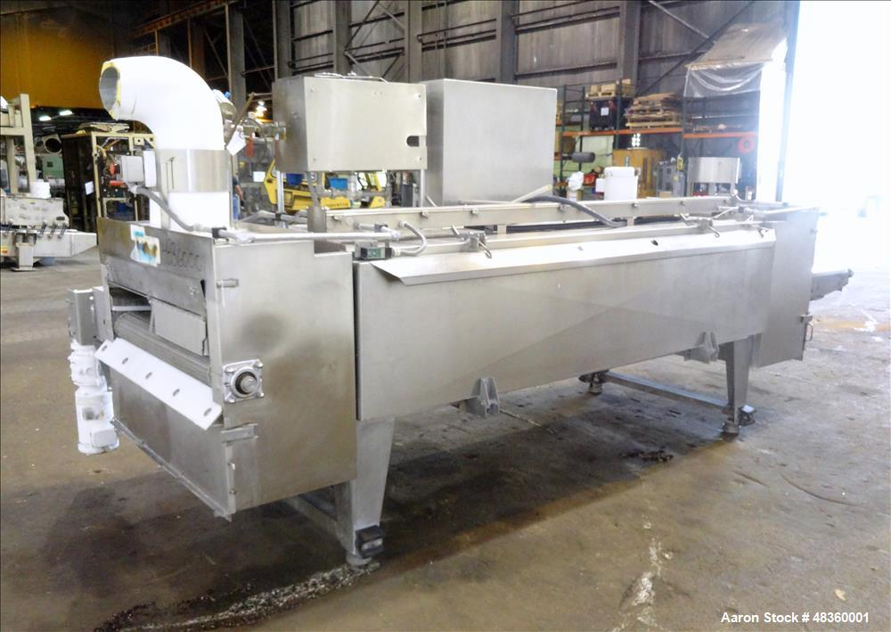 Used- Praxair Coldfront Straight Tunnel Freezer