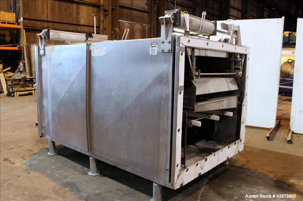Used- Praxair Cryogenic ColdFront Ultra Performance Freeze Tunnel, Model JE-U5-2