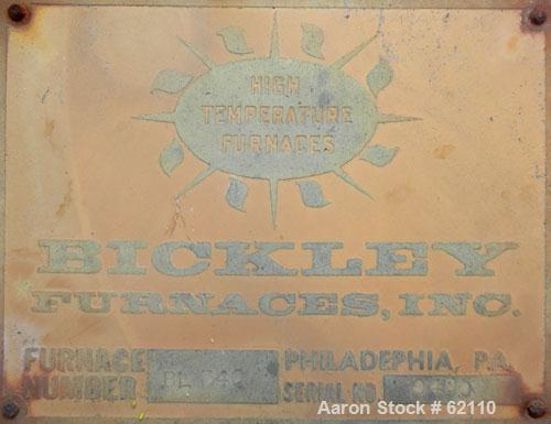Bickley Ultra-High Temperature Laboratory Furnace, Model BL-3-40