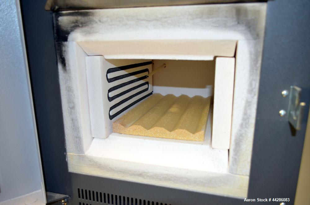 Used- Fisher Scientific Isotemp Muffle Furnace, Model 550-14, Catalog# 10-550-14. Temperature range Ambient to 1125 degrees ...
