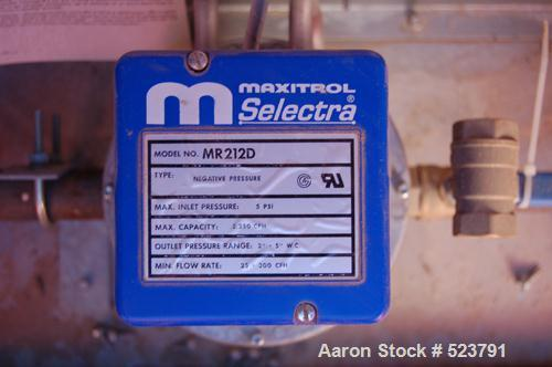 USED: JBI gas fired heater, model Ram 25. Natural gas, 1,000 btu/cubicfoot, 7.5 hp, 230 volt, 60 hz, 3 phase, 19.2 amp.