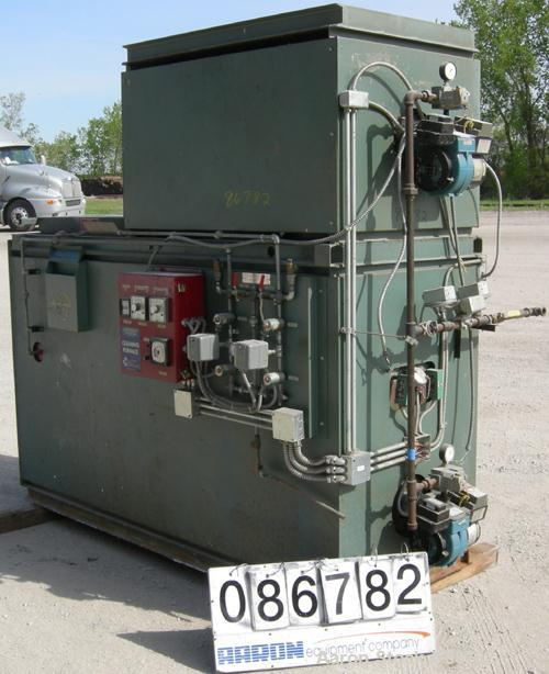 USED- Pollution Control Products Controlled Pyrolysis Natural Gas Cleaning Furnace, Model SCTR06. Input 250,000 BTU/HR. Burn...