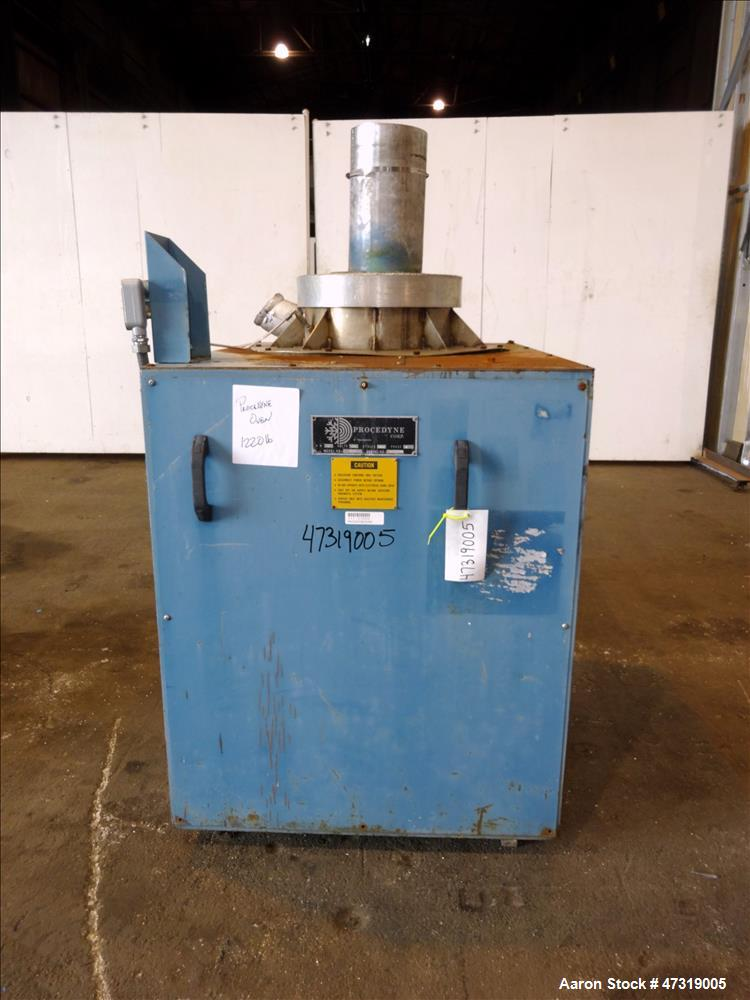 "Used- Procedyne Parts Cleaning Furance, Model 1630. Furnace chamber approximate 16"" diameter x 30"" deep. 9kW. 3/60/575 volt...."