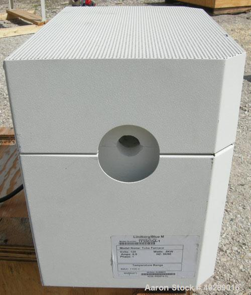 "Used- Lindberg Mini-Mite tube furnace, model TF55035A1. 1"" diameter x 12"" long chamber, maximum operating temperature 2012 d..."