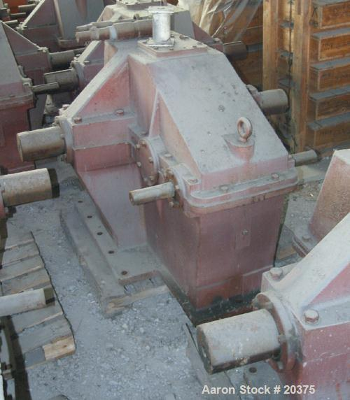Used- Brad Foote Gear Works Pumping Gear Reducer, Model 160
