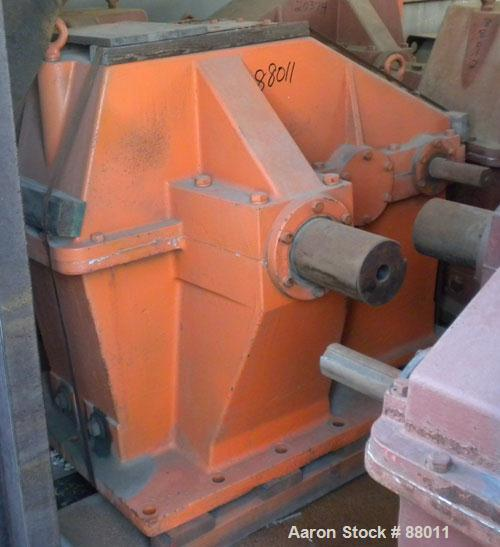 Used- Brad Foote Gear Works Pumping Gear Reducer, Model 2DH-228