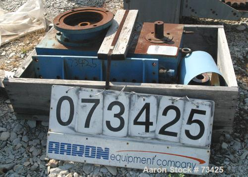 Used- Foote Jones Parallel Shaft Helical Reducer, Frame Size 0902HLX. Input hp 30, ratio 4.607:1. Input rpm 1750.