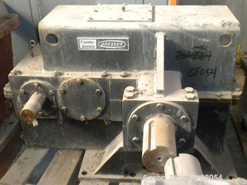 Used- Foote-Jones Dresser Titan Pumping Unit Gear Reducer, Model 1602HLT