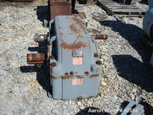 USED: Nuttall Gear Crop parallel shaft reducer, model 87R52407, catalog# D12F. Service hp 100, service factor 1.32, ratio 29...