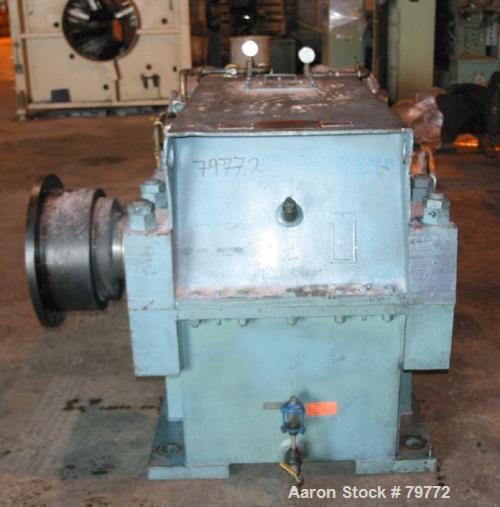 Used- Philadelphia Gear Drive, Model 17HP-2. HP rating 1040, input RPM 1150, output RPM 55, ratio 20.85:1, service factor 1....