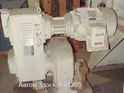 USED: Sterling varispeed drive 25 hp 230/460 1760 rpm, gearbox ratio 9.30:1, output rpm max 230, min 70.