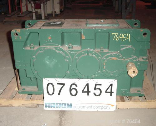 Used- Sumitomo Paramax Reducer, Model PX8095P3Y-LR-71. Input HP 150, input RPM 1165, HP rating 237, ratio 72:1.