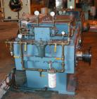 Used- Philadelphia Gear Drive, Model 17HP-2. HP rating 1040, input RPM 1150, output RPM 55, ratio 20.85:1, service factor 1.0