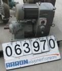 USED: US vari-drive motor, 5 hp, 230/460 1745 rpm, gearbox ratio 9.300, rpm min 500, max 4000, frame 184T.