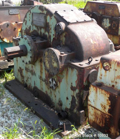 Used- Western Gear High Speed Increaser, Model 200 HSC. Rated 2000 hp, ratio 7.08:1, service factor 1.3. Input rpm 1750, out...