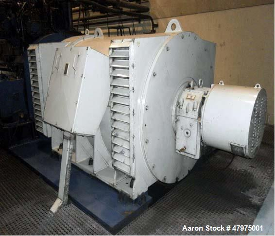 Used- Co-Generation Power Plant, 5,2MW Solar Taurus T- 60 Gas Gearbox Turbine Generator. 4.800 Kw/hour at 6.000 V with an av...
