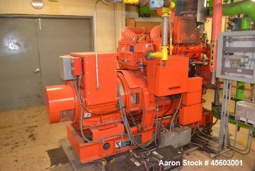 Used-Waukesha 3.56 MW Cogen Plant with Waukesha Generator Sets