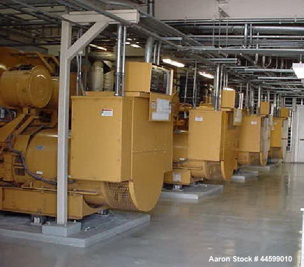 Used- CAT 2000kW standby diesel generator set, Caterpillar model 3516B engine rated 2876 HP @ 1800 RPM, SN- 1HZ01616. 3/60/4...