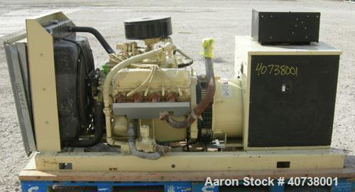 Used-Kohler 60 kW natural gas standby generator, model 70RZ. Spec #PA-187255. 3/60/277-480V. Ford V8 engine, model LSG-875I-...