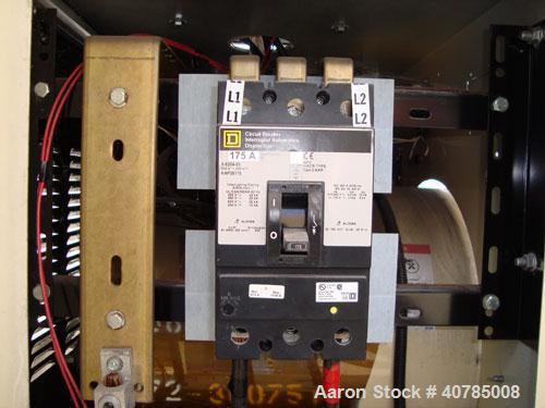 Used- Kohler 40 kW Fast-Response II Diesel generator set. Model 40REOZJB, serial #0764825. John Deere engine SN-PE3029T26671...