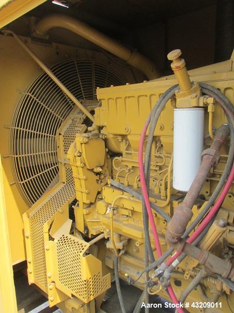 Used-Caterpillar 300 kW diesel generator. CAT 3406 engine
