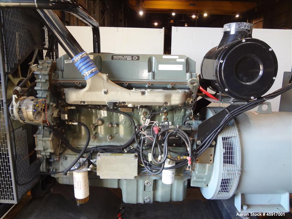Used-Detroit Diesel 510 kW standby diesel generator set
