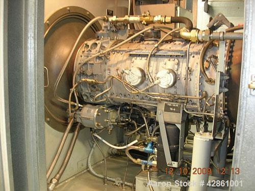 Used-Allison 501-KB 3000 kW Gas Turbine Generator Set. Currently set up to run on diesel fuel, can be converted to dual fuel...