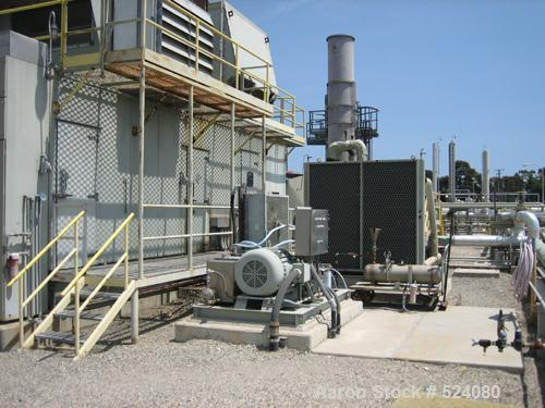 USED: Allison 501KB5, 1991 model, 3500 kW, Stewart & Stevenson package. Completely housed, reported in good condition. KATO ...