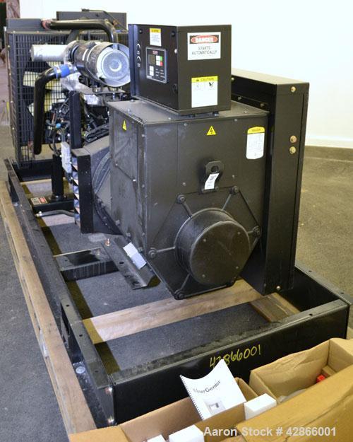 New - Baldor 150 kW standby (140kW prime) diesel generator set, model IDLC150-3JU. John Deer model 6068HF285 engine rated 23...