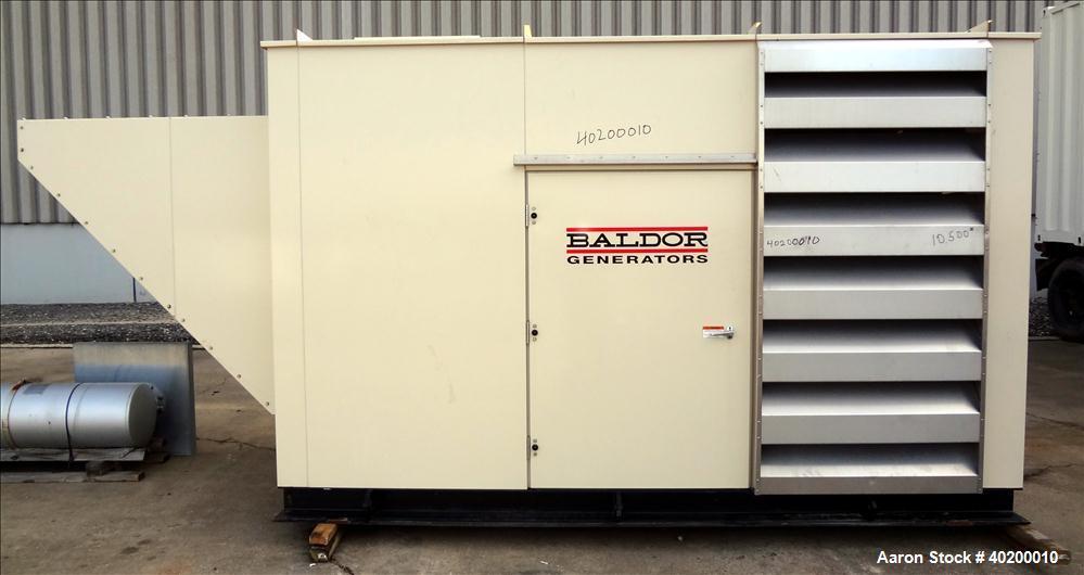 Baldor/NGE 177 kW Standby Natural Gas Generator Set, Model IGLC210-2N