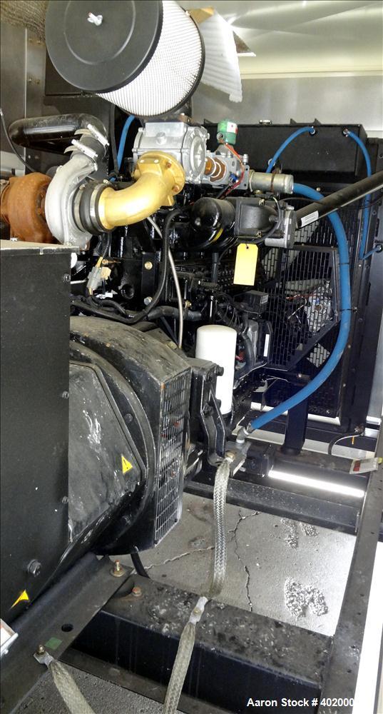 New- Baldor / NGE 177 kW standby natural gas generator set, model IGLC210-2N, . NGE D111L engine rated 302 HP at 1800 RPM, S...
