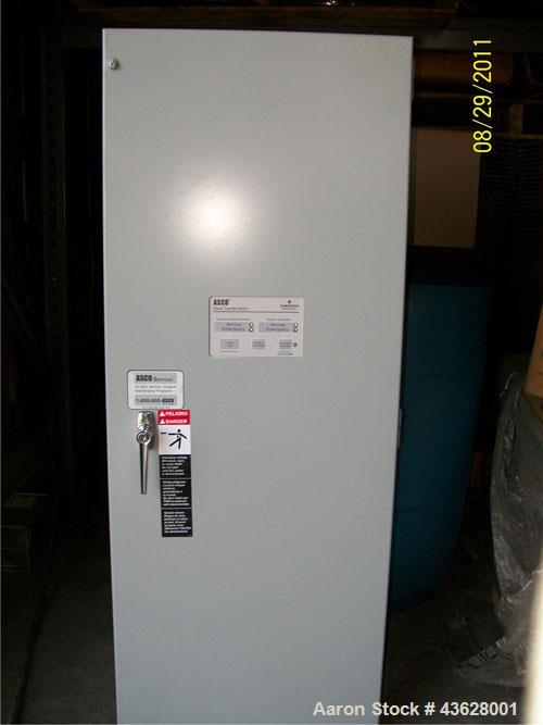 Used-Baldor Natural Gas Generator, IGLC-80, 80 KW, single phase, 120/240 Volts.  Includes transfer switch equipment to go wi...